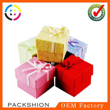 Wholesale Small Paper Biodegradable Gift Box