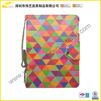 Leather Tablet Case Hot Selling High Quality Fashion Designer PU Leather 360 Degree Rotating Colorful 360 leather Stand Case