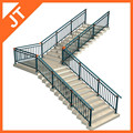 Luxus treppe handlauf/aluminium balkon handlauf/Aluminium treppe handlauf
