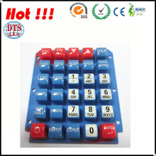 Silicone/Rubber Membrane Tactile Keypad Switch with FPC circuit