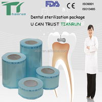 Medical Expanding Palace stick packing Heat-sealing flat roll pouch