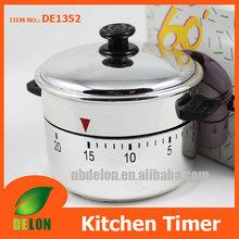 Pot shaped timer