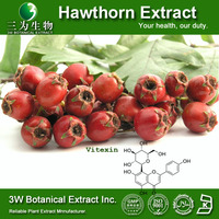 High Quality 100% Natural Hawthorn Berry P.E. Vitexin(Halal&Kosher)