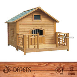 Wholesales Wood Dog Kennel Price DFD004