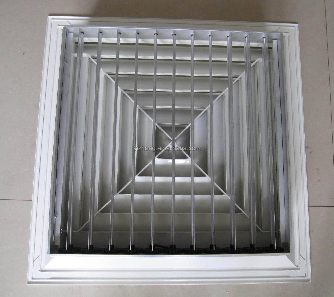 Ceiling Air Diffuser With Adjustable Damper Buy Ceiling Diffuser  #594F41