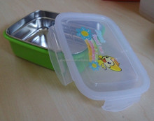 Baby food use PP and metal illustrated food container