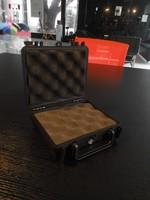 Wholesales luxury handheld plastic cigarette case