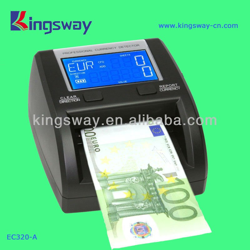 counterfeit money machine detector