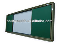 Dry erase greenboard for school and classroom