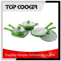 Aluminum ceramic induction enterprise quality cookware