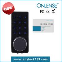 Onlense smart card lock touch screen electronic digitel door lock Electronic code lock