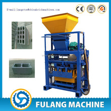 automatic cement block moulding machine QT40-1 house plans cost of fly ash bricks cement factories in egypt
