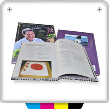2014 hard cover matted album book printing