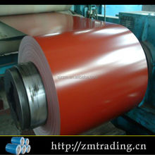 China cheap color coated galvanized steel coil manufacturer
