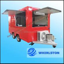 Can Be Customed Logo Mobile Hot Dog Carts Kiosk