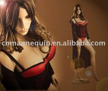 Big breasted sexy lifelike female mannequin