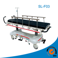 luxurious hydraulic stretcher emergency moving cart