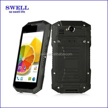 v4 PTT Walkie Talkie IP68 dual sim gsm cheap mobile phone / 2 card / battery sell rugged nfc android smartphone in shenzhen