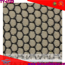 black dot lace fabric for fashion women's clothing