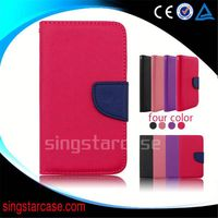 China Manufacturer wallet leather mobile phone case cover for zte blade apex V220