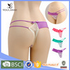 Japanese Style Lovely Low MOQ Womens Underwear Thongs