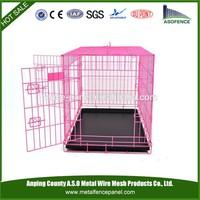 alibaba china manufacture hot sale decorate dog crate , cheap dog crate , aluminum dog crate(for Europe market)