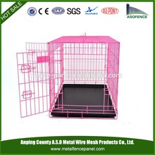 alibaba china manufacture hot sale decorate dog crate , cheap dog crate , aluminum dog crate(for Europe market)