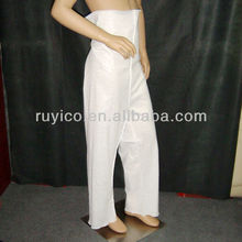 Disposable PP Trousers transparent waterproof open toe with CE ISO certificate for salon