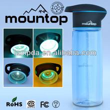 BPA 750ml botella mayor senderismo capacidad sana libre para su uso en exteriores