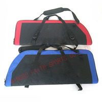 2 colors 600D polyster archery recurve bow bag with arrow cylinder and shoulder straps archery bow and arrow recurve bow case
