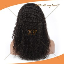 2015 new arrival full lace virgin Malaysian hair long curly wig