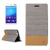 New Products 2016 Mobile Phone Leather Flip Cover for Sony xperia C4