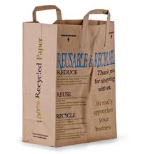 2015 kraft tin tie bags custom paper euro tote bags shopping bags wholesale
