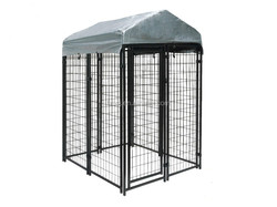 Assemble dog fence dog crate from processing factory