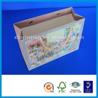 manual cement bread luxury printed raw materials making machine paper bag