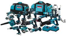 Factory Price! wholesale 100% Original Makita 18v Power Tools LXT1500 18-Volt LXT Lithium-Ion Cordless 15-Piece Combo Kit