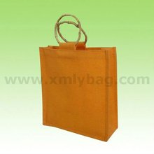 Promotional Eco Yellow Canvas Shopping Bag