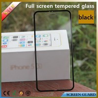 Axidi color full cover tempered glass screen protector for apple iphone 6/6 plus