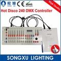 disco24024チャンネルdmxコントローラーナイトクラブのためのディスコdjパーティバーdmx照明コンソール