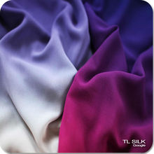Europe Quality Ombre Silk Satin/ggt/Chiffon Fabric OEM can pass Europe Test