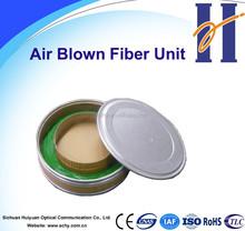 Air Blown Fiber Unit(ABF) Manufacturer 2~12 Fibers G.657A1/G.657A2 Fiber optic cable by blowing