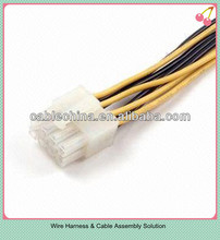 4pin cable harness systems, custom and automotive wiring harness, high quality custom auto wire harness for sale
