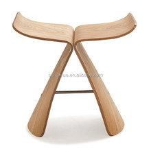 HY3015 NEW HOT living room bent wood Sori Yanagi butterfly stool