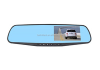 4.3inch 1080p 140 degree best rear view mirror car camera hd car dvr