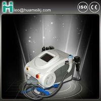 Portable 2013 Hot selling vacuum cavitation RF with ultrasonic tripolar cellulite reduction