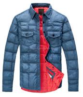 2015 Latest design Mens inner Winter down jacket