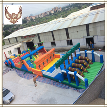 HUAYU Commercial Inflatable combo, Custom color bouncer inflatable,inflatable water game