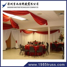10FT diameter circle/round pipe and drape system /circle pipe and drape supports