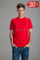 plain t shirt casual style in stock for wholesale, cotton dress shirt low price, boys red tee shirts wholesale,