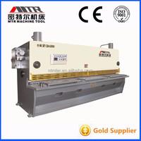 MTR QC11Y-10x3200 Hydraulic plate press guillotine cutter